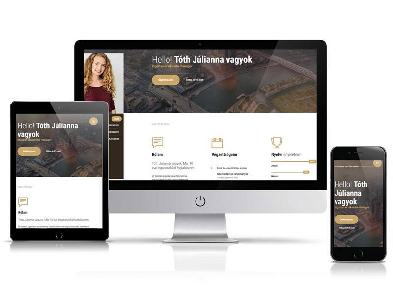 Weboldal átalakítás