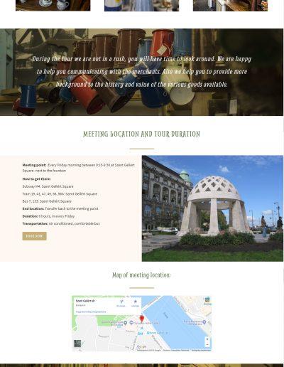 antique tour budapest weboldal