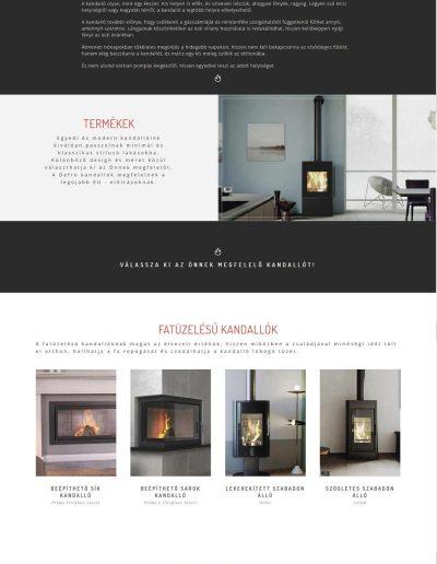 defro-kandallo-weboldal