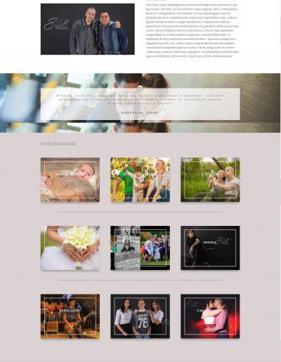 fotós weboldal