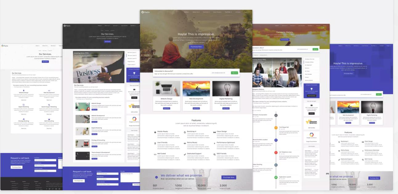 Weboldal elemei